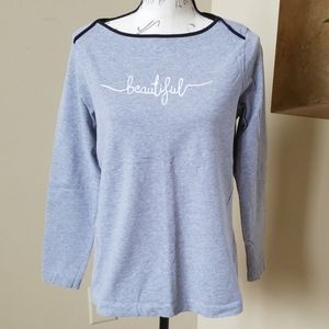 Ladies Izod Long sleeve shirt Size Large